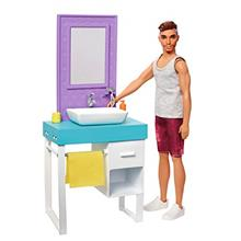 US. Barbie Ken Doll and Accessories