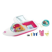 "US. Barbie Dolphin Magic Ocean View Boat with  ""Glass Bottom, "" 3 Pu"