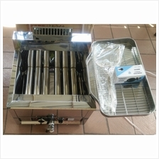 Gas deep fryer Automatic temperature control