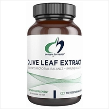 [USAmall] Designs for Health Olive Leaf Extract Capsules - 500mg, Standardized