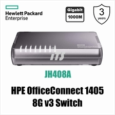 HP OfficeConnect 1405 5G / 8G-Port v3 Switch (JH407A/JH408A)