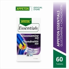 APPETON Essentials Glucosamine 500+Chondroitin 400 (60's) for Joints
