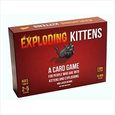 US. Exploding Kittens Card Game - Family-Friendly Party Games - Card Games for