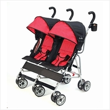 US. Kolcraft Cloud Lightweight and Compact Double Umbrella Stroller, R