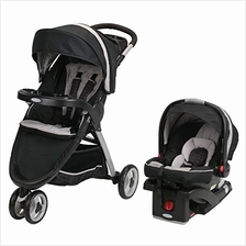 US. Graco FastAction Fold Sport Travel System | Includes the