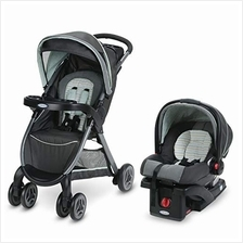US. Graco FastAction Fold Travel System | Includes FastAction