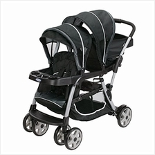 US. Graco Ready2Grow LX Double Stroller | Lightweight Double Stroller,