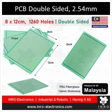 PCB, Printed Circuit Board, Donut Board, Double Sided, 8x12cm, 80x120m