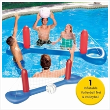 Inflatable Volleyball Net 96.1 x 25.2 inch Volleyball Inflatable Pool