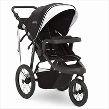 US. Jeep Hydro Sport Plus Jogger by Delta Children, Black