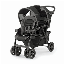US. Chicco Cortina Together Double Stroller, Minerale