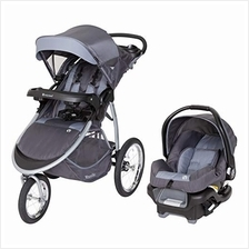 US. Baby Trend Expedition Race Tec Travel Jogger, Ultra Grey