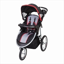 US. Baby Trend Cityscape Jogger Stroller, Jolt Red