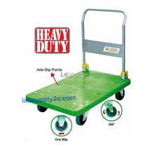 Heavy Duty hand truck trolley, Long Lasting PVC Platform Trolley 300kg