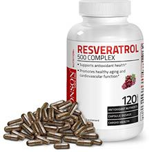 US. Resveratrol 500 Complex Red Wine Extract Natural Antioxidant Supplement fo