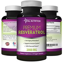 US. Pure Resveratrol - 2000mg - Strongest, Most Effective Blend on Amazon - 90