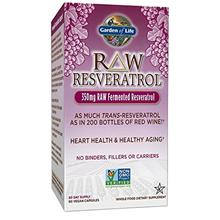 US. Garden of Life Heart Resveratrol Supplement - Raw Whole Food Antioxidant F
