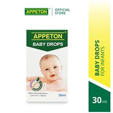 APPETON Multivitamin Plus Drop (30ml) Infant from 0-12month