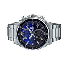 Casio EDIFICE Men Chronograph Blue Stainless Steel Watch EFV-600D-2AV