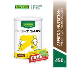 APPETON Weight Gain for Adult (Chocolate) (450g))