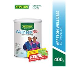 APPETON Wellness 60+ Nutrition Milk for Senior (Vanilla) (400g))