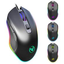 6400 DPI Adjustable Wired RGB Gaming Mouse