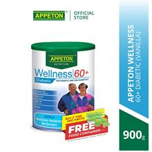 APPETON Wellness 60+ Diabetic Nutrition Milk Vanilla) (900g))