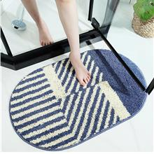Striped Bathroom Water Absorption Non-slip Bathroom Mat