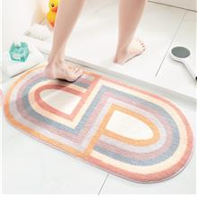 Geometric Non-Slip Floor Mat for Door Entrance