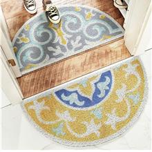 Semi-circle Non-slip Door Floor Mat