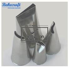 BAKECRAFT Petal Pastry Tubes Decorating Nozzle