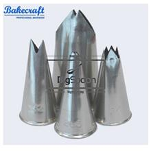 BAKECRAFT Leaf Pastry Tubes Decorating Nozzle