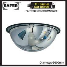 SAFER Indoor Dome Mirror Industrial Polycarbonate