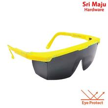 MAJU SWH-G8BK Black Safety Goggle Eye Wear Spectacles Protection UV Sc