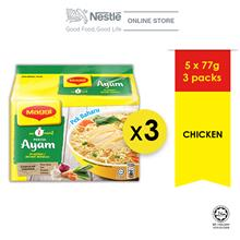 MAGGI 2-MINN Chicken 5 Packs 77g x3 packs, ExpDate: Jan 2021