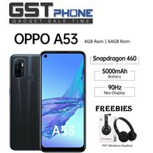 Oppo A53 4GB Ram+64GB Rom (Original Malaysia Set) With 2 Premium Gift