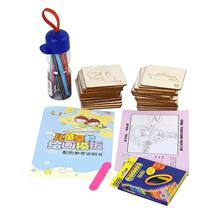 Drawing Toys Set Painting Stencil Models Coloring Board Kids Doodles