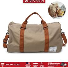 MV Bag Travel Bag Brown Stripe Sling Bag Gym Messenger Hand Carry Beg