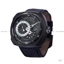 SEVENFRIDAY Q3/01 Q-Series Automatic Leather Strap Black