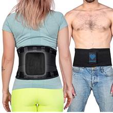 US. Lower Back Brace for Pain Relief - Adjustable Back Support Belt for Liftin