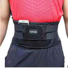US. Back Braces for Lower Back Pain Women, Back Support Belt for Men Lumbar Su