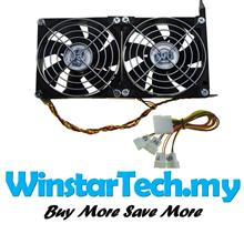 Pci 9cm 90mm 92mm 2x Dual Fans Brushless Cooling Fan GPU Graphic Card