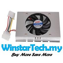4Pin 3.5inch Big Hard Disk Drive Cooler HDD Cooling Fan Low-noise