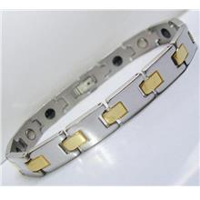 SONATZA GP Stainless Steel Magnetic Bracelet Bio Health Therapy