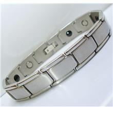 SAZN SV Stainless Steel Magnetic Bracelet Bio Health Therapy