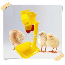 5pcs Chicken Feeding Watering Supply Push Nipple And Drip Cup