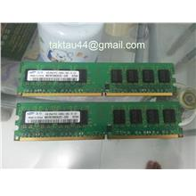 2 pc of Samsung 1GB DDR2 667 Mhz Destop Ram