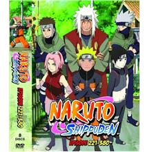 Naruto Shippuden Episode 221-380 Anime DVD Japanese / English Version