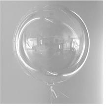 18/24in Bobo Round Clear Transparent Balloon Party Celebration