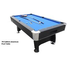 8ft Callisto American Snooker Pool Table
